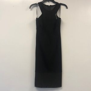 Bobi black midi dress